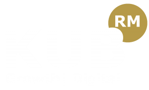 kub recruitment marketing manchester white logo